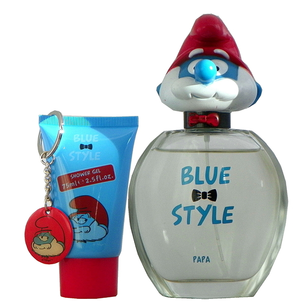 The Smurfs Papa 精靈老爹淡香水100ml 搭贈雙贈品 無外盒包裝