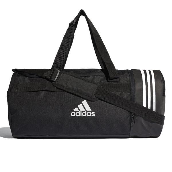Adidas 3-Stripes Duffel (大) 黑 手提包 愛迪達 健身側背包 休閒 運動 旅行 健身包 慢跑 旅行包 CG1532