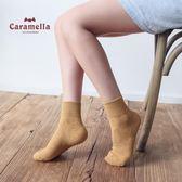 2件裝女襪子中長筒純棉運動黑色潮【不二雜貨】