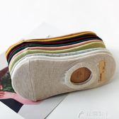 襪子女短襪淺口韓國可愛船襪女純棉隱形低幫夏季薄款硅膠防滑襪套 花間公主