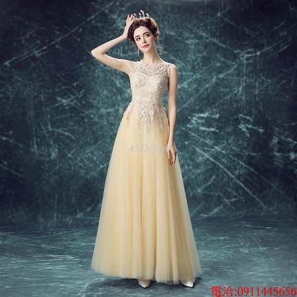 (45 Design)  7天到貨 禮服婚紗晚禮服短款晚宴年會 結婚小禮服短裙 大小顏色款式都能訂製20