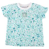 【愛的世界】純棉圓領豹紋短袖T恤/1~4歲-台灣製- ---春夏上著 涼夏推薦