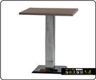 {{ 海中天休閒傢俱廣場 }} C-99 摩登時尚 餐廳系列 443-55 2X2尺美耐板餐桌/電鍍腳(顏色可挑選)