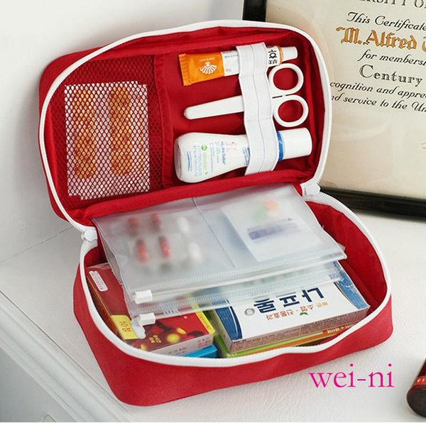 wei-ni 立體式WeekEight急救包 (大) 隨身藥物整理袋 旅行藥物收納袋 可當簡易3C收納包 隨身萬用包