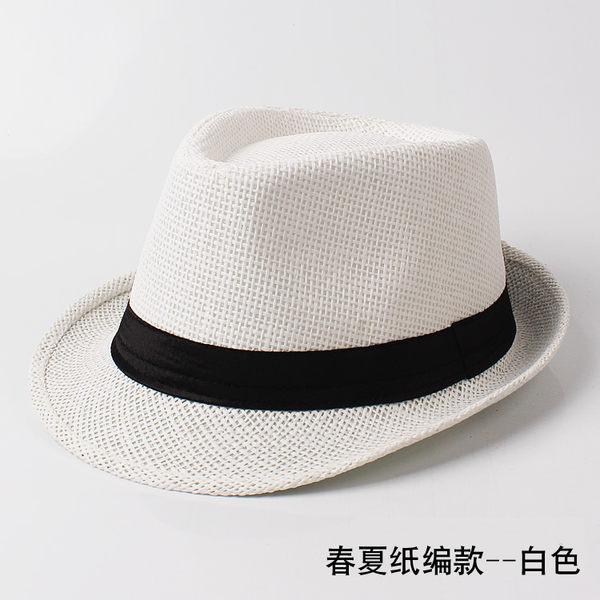 新品時尚紳士帽爵士帽韓製潮男女英倫復古小禮帽遮陽休閒舞台帽子 全館免運聖誕節禮物