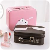 便攜少女可愛收納盒防水手提化妝箱「巴黎街頭」