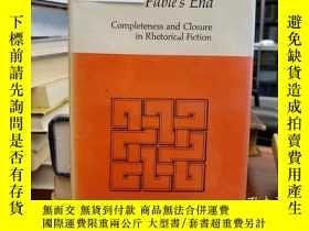 二手書博民逛書店Fable s罕見End: Completeness and Closure in Rhetorical Fict
