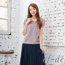 【UFUFU GIRL】直紋衣面x背素面布拼接,氣質感絕佳!