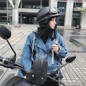 秋冬季保暖輕便式半盔電動摩托車可愛機車四季頭盔男     ciyo黛雅
