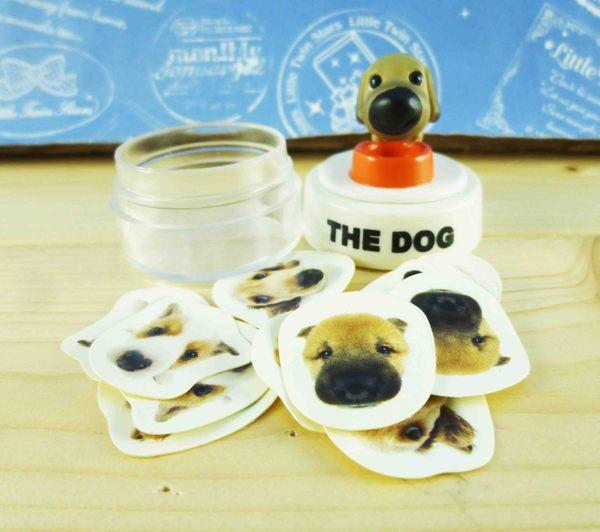 【震撼精品百貨】新大頭狗_The Dog~貼紙附罐-臘腸
