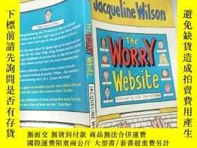 二手書博民逛書店The罕見Worry Website 憂慮網 站Y200392
