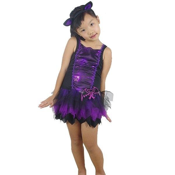紫黑巫婆蝙蝠仙子,化妝舞會/角色扮演/尾牙表演/萬聖節/聖誕節,節慶王【W380113】