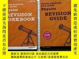 二手書博民逛書店REVISE罕見EDEXCEL AS A LEVEL Physics REVISION GUIDE+WORKBOO