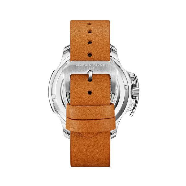 義大利GIORGIO FEDON 1919機械錶TIMELESS IX GFCK002藍寶石鏡面 皮帶手錶 男錶對錶