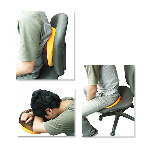 [AWANA]圓形雙面抱枕 (2款可挑)