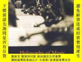 二手書博民逛書店Philosophy罕見Of MusicY255562 Sharpe, R. A. Mcgill Queens