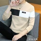男士T恤長袖潮流上衣新款純棉短袖衣服學生衣衛衣 快速出貨