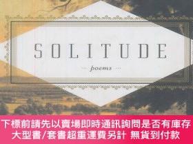 二手書博民逛書店Solitude罕見(Everyman s Library Pocket Poet)Y451951 Carme