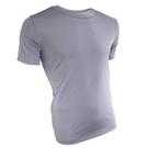 男款CoolMax 吸濕排汗衣 素色淺條紋 淺灰色