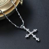 【J&K】耀眼系列八心八箭晶鑽項鍊-永恆