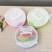 雙層水果盤瀝水籃家用懶人糖果盤盒創意廚房客廳嗑吃瓜子神器塑料 DR2668【KIKIKOKO】