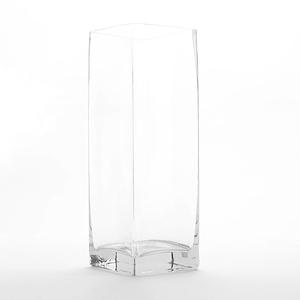 Tess 特斯四角柱型玻璃花器 36cm