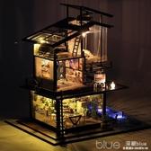 都挺好同款 DIY小屋巴倫西亞創意手工制作房子模型別墅拼裝玩具女 【快速出貨】