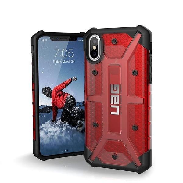 【美國代購】UAG iPhone Xs / X [5.8英寸]外殼等離子 耐衝擊軍用防摔測試 保護套 岩漿
