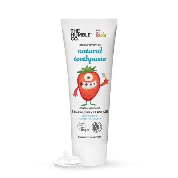 Humble 瑞典天然兒童牙膏 - 清新草莓(適合2-6歲孩童)