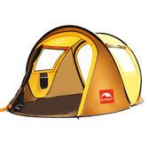 帳篷戶外 野營2人加厚防雨雙人海邊帳篷
