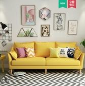 沙發沙發北歐ins風小戶型簡約現代三雙人客廳布藝出租房小沙發網紅款 衣間迷你屋