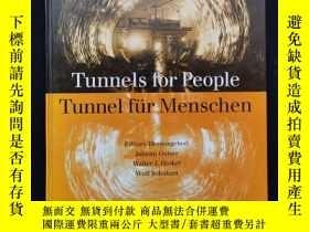 二手書博民逛書店tunnels罕見for people tunnel fvr menschen volume band1Y64