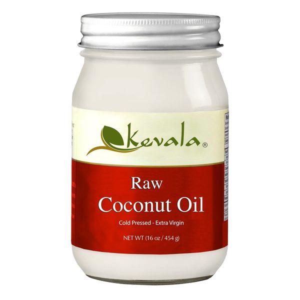 美國Kevala無精製冷壓初榨椰子油 (net weight 16oz/454g)