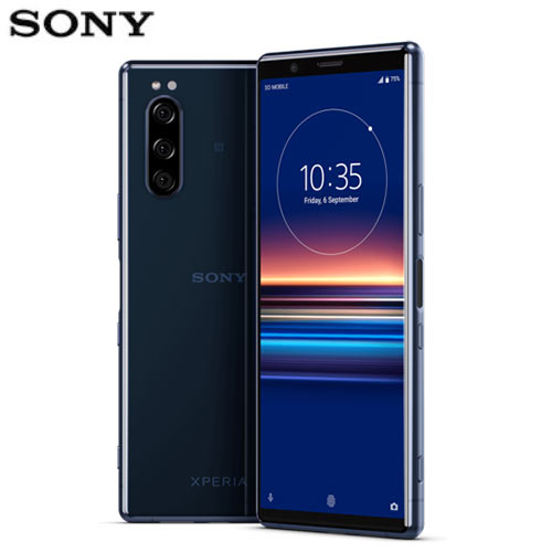 SONY XPERIA 5 智慧型手機J9210 (6G/128G)-藍【愛買】