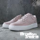 Nike Air Force 1 SS GS 粉紅 白 女鞋 休閒鞋 大童 (布魯克林)2018/10月 AV3216-600