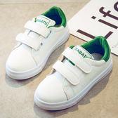 夏季兒童跑步鞋休閒鞋子透氣女童鞋子小白鞋童鞋 WE2159【東京衣社】