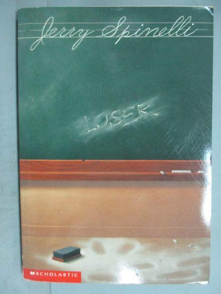 【書寶二手書T8/原文小說_GJH】Loser_Jerry Spinelli