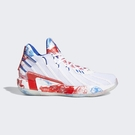 Adidas Dame 7 Gca [FZ1102] 男女鞋 籃球鞋 運動 休閒 避震 輕量 愛迪達 白 紅