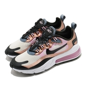 Nike 休閒鞋 Wmns Air Max 270 React 粉紅 金 女鞋 玫瑰金 氣墊 運動鞋 【ACS】 CT1833-100