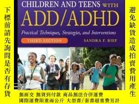 二手書博民逛書店How罕見to Reach and Teach Children and Teens with ADD ADHD,