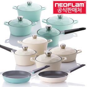 韓國NEOFLAM Carat 鑽石頂級陶瓷不沾鍋 (平底鍋 28cm) 【韓國代購】