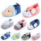 學步鞋 8種動物寶寶鞋 軟底嬰兒鞋(11...