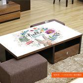 桌布防水防燙防油免洗茶幾墊軟塑料玻璃餐桌布