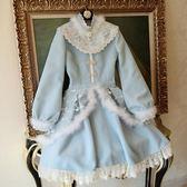 618大促陛下蘭他惜冬裝新款原創中國風改良旗袍LOLITA軟妹毛呢連身裙