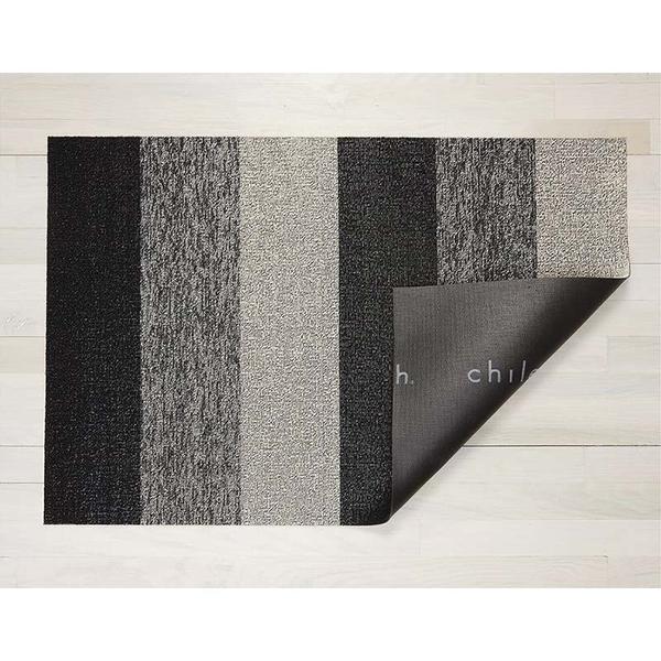 美Chilewich-Marbled Stripe系列地墊-46X71CM-灰黑