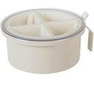 調料瓶 調料盒四格一體套裝廚房用品收納家用調味品瓶裝味精的鹽罐糖罐子【快速出貨】