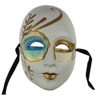 歐式臉譜 意大利面具 環保 紙漿彩繪