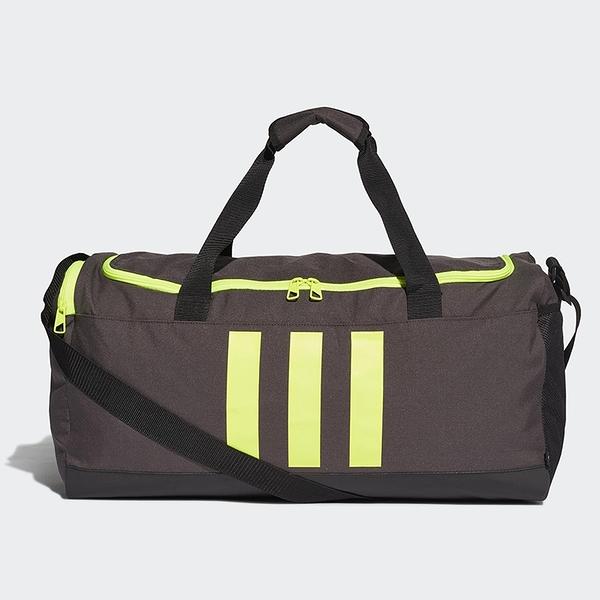 ADIDAS 3-STRIPES 旅行袋 手提袋 健身 黑【運動世界】GN2047