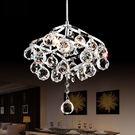 吊燈 簡約現代LED水晶小過道燈餐廳臥室...