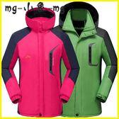 衝鋒衣-加絨加厚沖鋒衣外套男女大碼登山服防水防風戶外保暖棉服